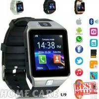 Eksklusif SKY U9 Jam Tangan HP Smartwatch Touchscreen GSM Silver