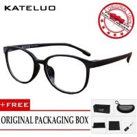 KATELUO 9930 Kacamata Anti Radiasi Komputer TR90 Pria Wanita Frame O