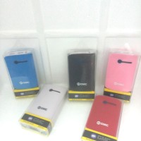 Power Bank GMC/8000A(ORIGINAL) 8000Mah + 2 USB +Led