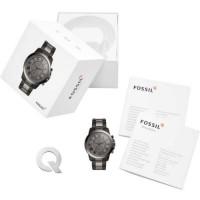 [MAMAUPI.SHOP] smartwatch fossil hybrid Q Grant smoke tone FTW1239 ori