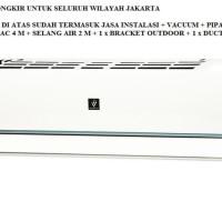 PROMO AC SHARP 1 1/2 PK PLASMA CLUSTER AH-AP12SSY FREON R32, 1090 WATT