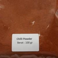 Harga 100 gr cabe bubuk chilli powder bumbu tabur | antitipu.com