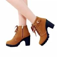 Sepatu jungle wanita sepatu hak tinggi sepatu boot wanita sepatu wanit 37d5239076
