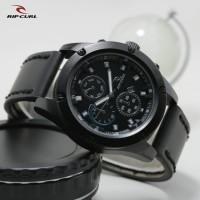 Jual Jam tangan Ripcurl crono off tanggal aktif tali kulit jam tangan super Murah
