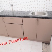 kitchen set jakarta modern handel aluminium pvc anti rayap air