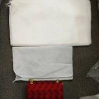 dust bag kecil lusinan / cover tas / sarung tas /sarung dompet