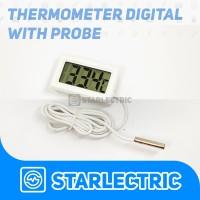 Thermometer Digital Kabel Sensor Waterproof Probe
