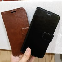Samsung galaxy A7 2018 Flip wallet leather - samsung a7 2018