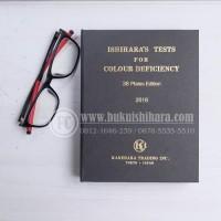 Buku Ishihara 38 plates untuk tes buta warna