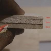 Balsa sheet tebal 6mm 10cmx100cm (6x100x1000mm) murah