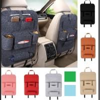 Car seat organizer Tas Mobil Multifungsi di pasang di belakang jok