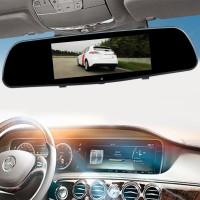 Kaca Spion Dalam Mobil Dengan Kamera Recorder + Night Vision l
