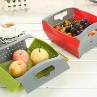 NEW Tempat buah sayur lipat serbaguna A550
