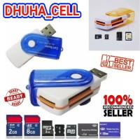 CARD READER MULTI 4 IN 1 / SLOT USB / ADAPTER / ADAPTOR MICRO SD USB