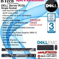 DELL Server R330 Intel Xeon E3-1220v6/8GB/2x 2TB NLSAS RackmountSeries