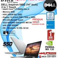 DELL Inspiron 5482 Intel Core i7-8565U/8GB/256GB SSD/VGA 2GB/Win10HSL