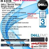 DELL Server R330 Intel Xeon E3-1225v6/16GB/2x 4TBNLSAS RackmountSeries