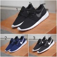 Jual Sepatu Nike Roshe Run Men Sneakers Pria Casual Sport Running Import Murah