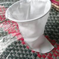 Saringan Teh / Kopi kain Diameter 16 Cm