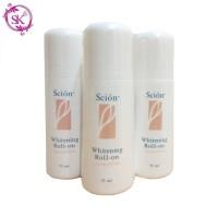 N U S K I N whitening roll on S C I O N deodorant