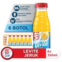 Levite Rasa Jeruk 350ml (12 botol) [50% OFF]