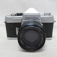 Analog Kamera Minolta SR-1 ★ MC ROKKOR-PF 1: 1.7 f = 50mm