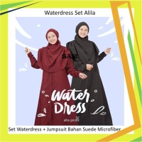 Waterdress Set Hijab Alila Baju Renang Syari Waterdress dan Jumpsuit