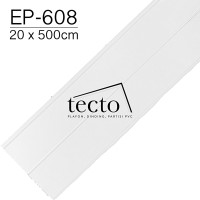 TECTO Plafon PVC EP-608 (20cm x 500cm)