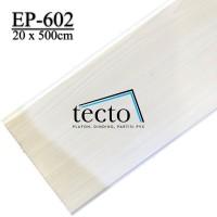 TECTO Plafon PVC EP-602 (20cm x 500cm)