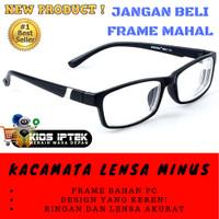 Diskon Kacamata Rabun Jauh Lensa Minus 1 15 2 25 3 35 4 Myopia ... ea26b824ff