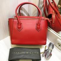Harga tas wanita slempang charles and keith cnk hand bag sling bag | antitipu.com