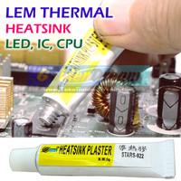 Lem Thermal Glue Plaster Stars 922 Heatsink Adhesive LED CPU Heat Sink