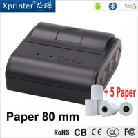 Printer Pos Thermal Bluetooh 80mm Rechargeable Battery High Speed