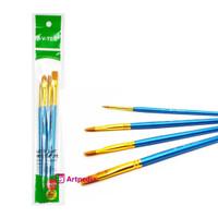 V-Tec Brush A0270 Set 4 / Kuas Lukis Set 4