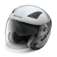 Honda Luxury Helmet Silver Size L dan XL SH711
