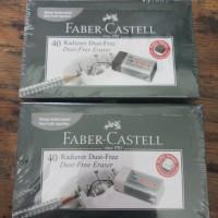 Penghapus Faber Castell Putih Per Pack