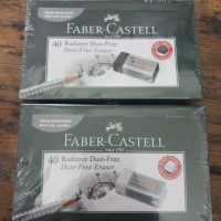 Penghapus Faber Castell Hitam Per Pack