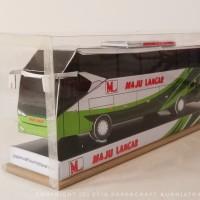 Papercraft Bus Maju Lancar