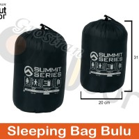 Sleeping bag Bulu / polar bulu / polar tebal