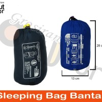 Sleeping bag UL + Bantal - SB - Ultralight - polar