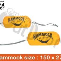 Hammock Single (tempat tidur gantung) / ayunan