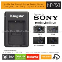 Kingma Charger NP-BX1 for Sony RX100 RX1 HX90 HX300 HX400 HDR-AS20 Etc