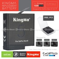 KingMa Baterai Replacement Battery for GoPro Hero 5 / 6 / 7 Black
