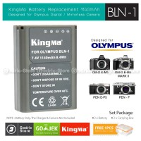 KingMa Baterai BLN-1 Olympus Battery OM-D E-M1 E-M5 E-M5ii E-P5 Etc