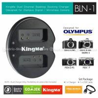KingMa Charger BLN-1 for Olympus OM-D E-M1 E-M5 E-M5ii E-P5 PEN-F Etc