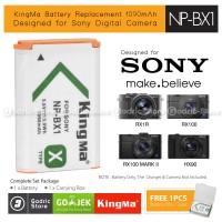 Kingma Baterai NP-BX1 Sony Battery RX100 RX1 HX90 HX400 HDR-AS20 Etc