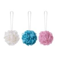 IKEA ABYAN Spons Mandi / Body Shower Puff - Set isi 3 Aneka Warna