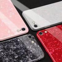 Iphone 6/6s Shiny Shell Diamond Glass Hard Case