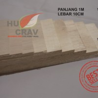 SSKayu Balsa Sheet Tebal 1,5mm 10cmx50cm Kayu Maket Rc Aero