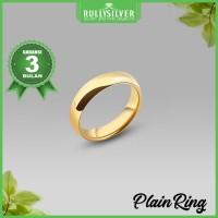 Promo Cincin Kawin Gold Plain Ring Terpopular.